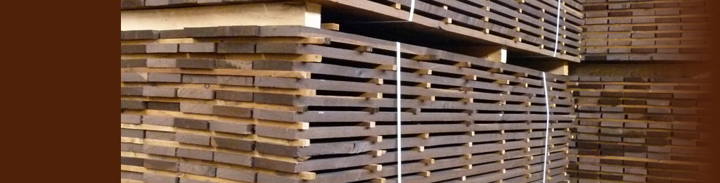 Rough lumber thermowood